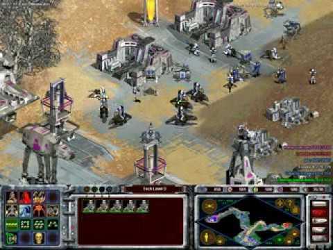 Star Wars Galactic Battlegrounds Speedrun - Darth Vader - 4 Part 1 - Mission 4 - An empire's fury