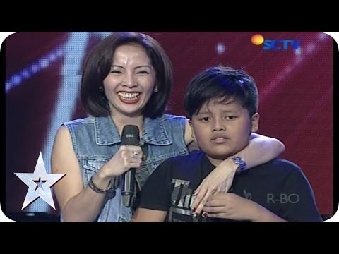 Special Moments from Ari Lasso and His Son - AUDITION 8 - Indonesia's Got Talent
