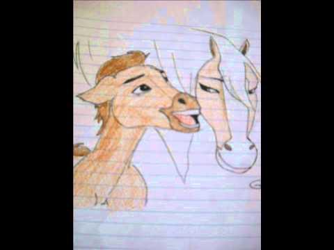 I miei disegni sui cavalli youtube for Immagini cavalli da disegnare