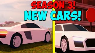 🔴ROBLOX JAILBREAK LIVE!| SEASON 3 COMING SOON +NEW CARSTO JAILBREAK| ROBLOX LIVE