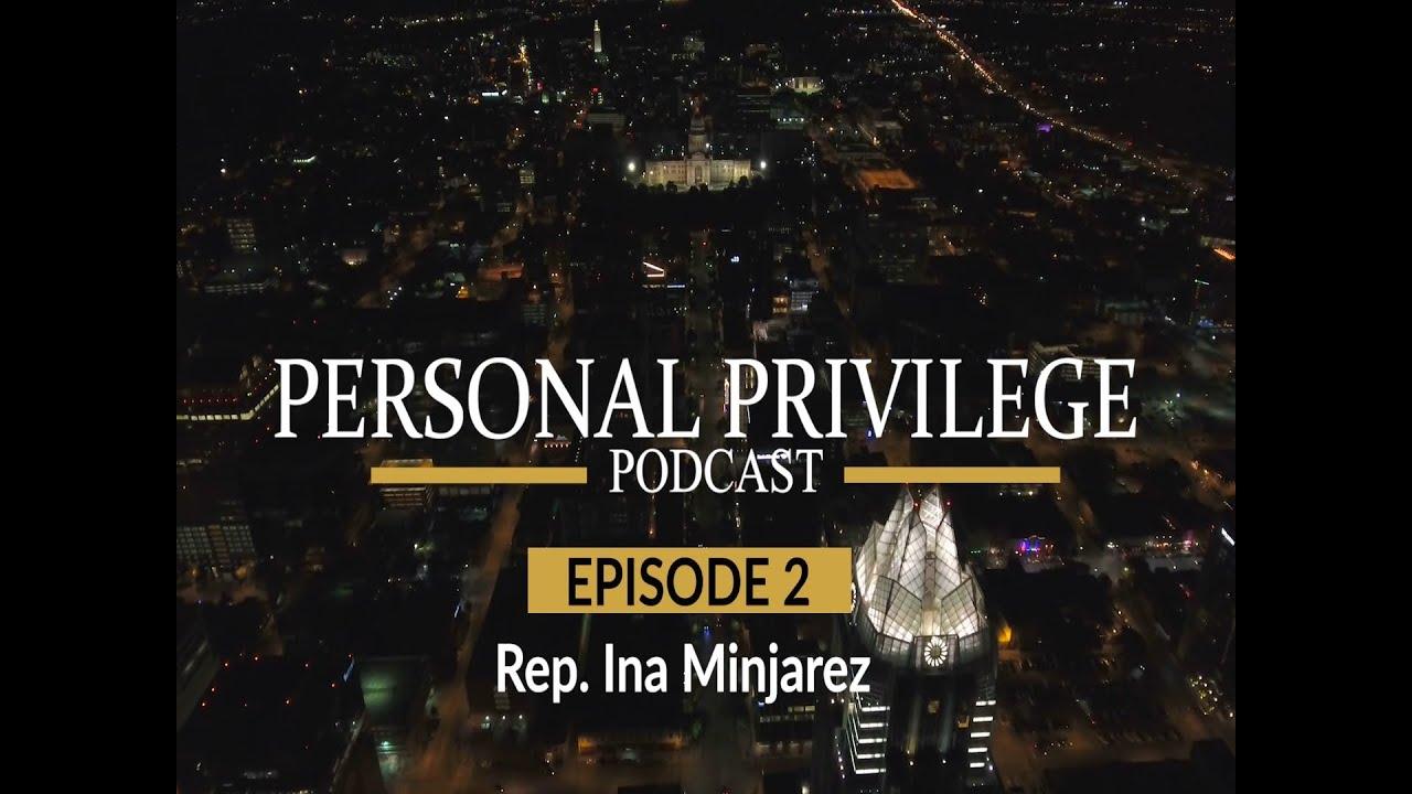Personal Privilege - Rep. Minjarez