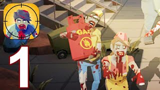 Zombie War - Gameplay Walkthrough Part 1 (Android,iOS)