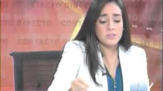 Entrevista en Ecuavisa con Lenin Artieda.