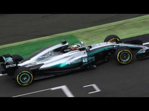 Scarbs on the new F1 Mercedes