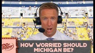 Joel Klatt react to Michigan's close win vs Army 24-21 (2OT)