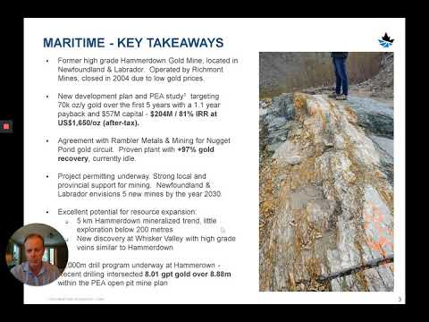 Maritime Presents at the 2020 Sprott Natural Resource Symposium