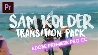 "TUTORIAL 6 PRESET ""SAM KOLDER TRANSITION"" Thank You for Orange83 & ChungDha"