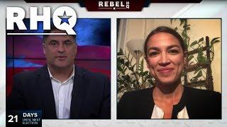 Alexandria Ocasio-Cortez Lays Out Progressive Agenda