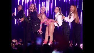 mtv ema 2018 nicki minaj, little mix, anne marie and  janet jackson performance