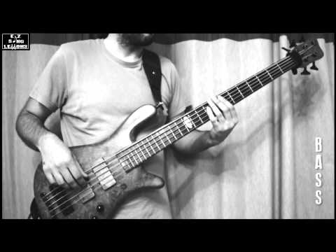 Son Et Lumiere Inertiatic ESP - Mars Volta  [BASS Cover/Lesson with TABS/Score] Slow Speed