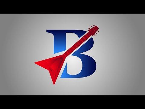 B Shape Logo Design In Illustrator - Illustrator Tutorial - Illustrator CC