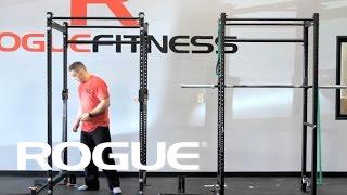 rogue r 4 power rack weight training