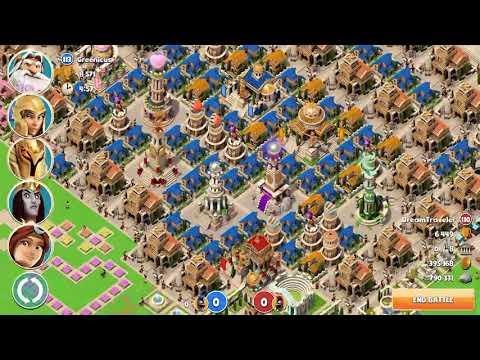 Greenicus Attacking - Gods of Olympus 8.23.17