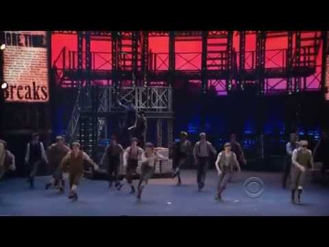 NEWSIES Broadway - 2012 Tony Awards