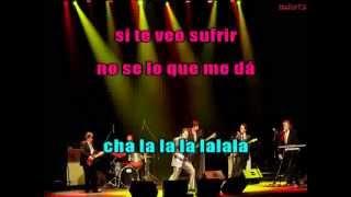 Los Iracundos - No se lo que me da (karaoke)