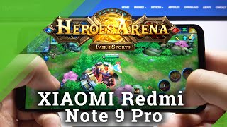Heroes Arena on XIAOMI Redmi Note 9 Pro - Game Test