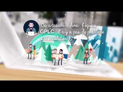 Joyeux Noël de l'équipe de GPLC!