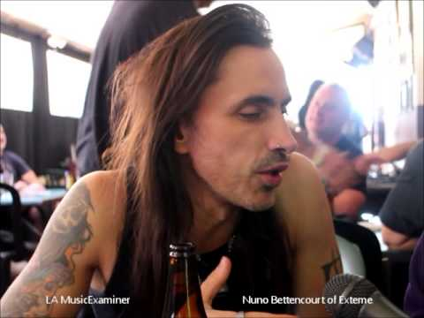 Nuno Bettencourt interview talks Extreme Jimmy Fallon and Cathouse Live 2015