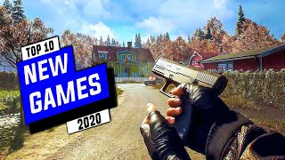 Top 10 NEW Upcoming Games For Android 2020 - Ultra High Graphics