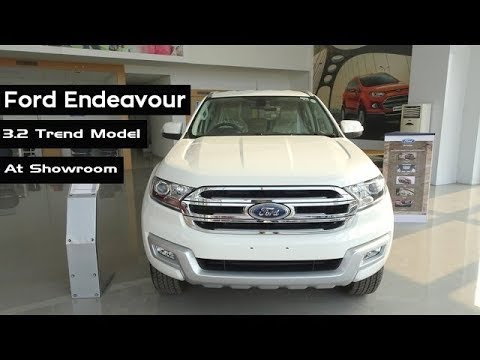 Ford Endeavour 2016 | Interior And Exterior | Keys | Extra Features Review At Showroom | India