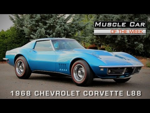 Muscle Car Of The Week Video Episode #117:  1968 Chevrolet Corvette L88 427 Coupe