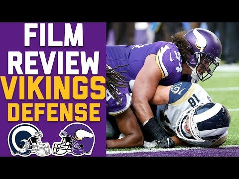 How the Vikings Defense SHUT DOWN the Rams High-Powered Offense | Film Review | NFL Network
