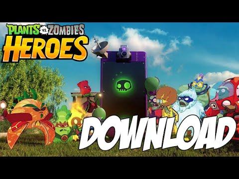 download game plants vs zombies heroes apk