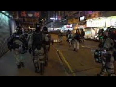 Police swoop as Hong Kong protests shift tactics
