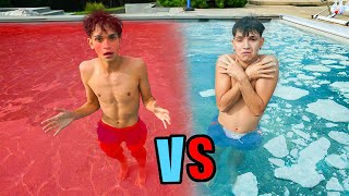 HOT vs COLD POOL Challenge!