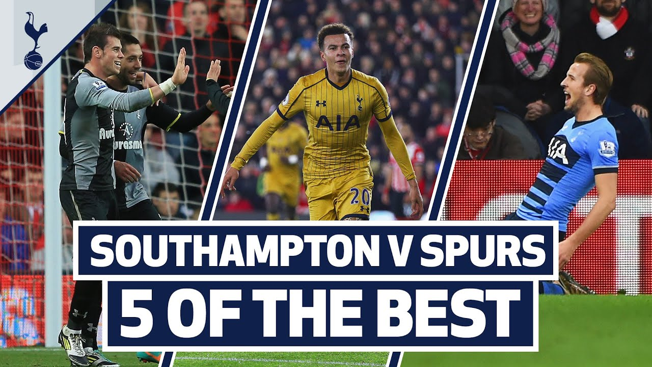 5 OF THE BEST | SPURS BEST GOALS AT SOUTHAMPTON | Ft. Bale, Kane & Dele