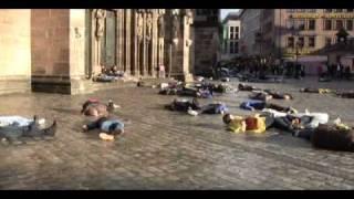 Flashmob Nürnberg Lorenzkirche 12.04.2011 - Stafaband