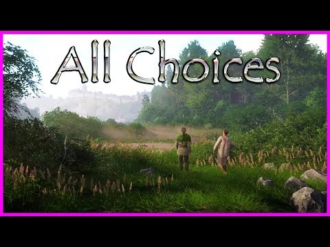 All choices with Zbyshek - Kingdom Come Deliverance Game - The Die is Cast