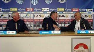 PEC Zwolle - Willem II (4-1); persconferentie © 2016 kvpm.nl