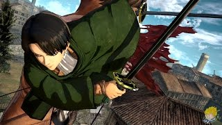 Attack on Titan: Wings of Freedom - Levi Ackerman Gameplay【FULL HD】