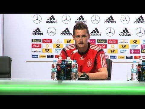 """Mondial-2014: Klose se souhaite """"bienvenue dans le club des 16!"""""""