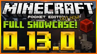 minecraft pocket edition 0 13 0 update full showcase redstone rabbits temples mcpe 0 13 0