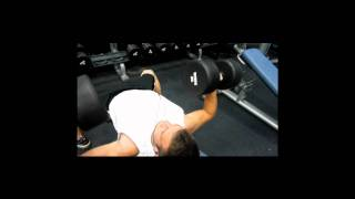 Junior Bodybuilder - Nick Wright Chest Workout - Off Season 2011