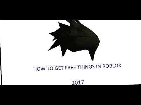 how to get free things in roblox catalog 2018