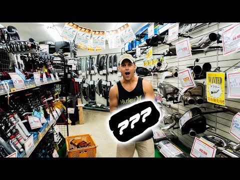 ULTIMATE JDM USED PARTS STORE FINDS!