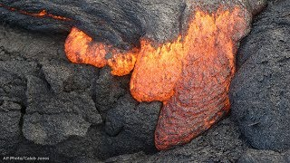 Lava flows: What to know about a'a and pahoehoe