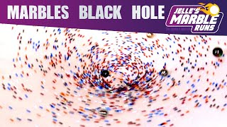 """Marble Black Hole"" - Hyperbolic Gravitational Funnel Marble Run"