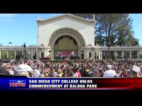KUSI News - San Diego City College Commencement