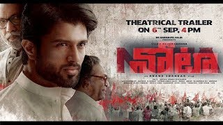 NOTA OFFICIAL TRAILER - TELUGU | Vijay Deverakonda | Anand shankar | 2018 Telugu Movies || Fan Made