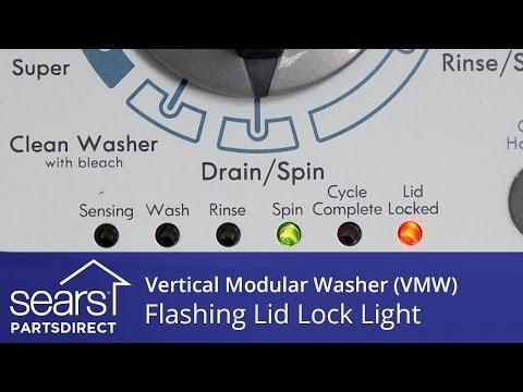 how to open a locked washing machine door