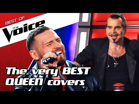 TOP 10 | AMAZING Queen Covers In The Voice