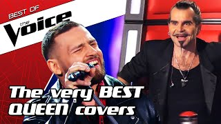 Gambar cover TOP 10 | AMAZING Queen Covers in The Voice