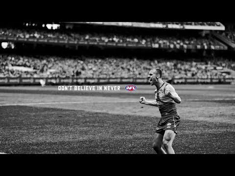 MUST WATCH: Inside the Eagles and Pies on Grand Final day | Don't Believe In Never | AFL