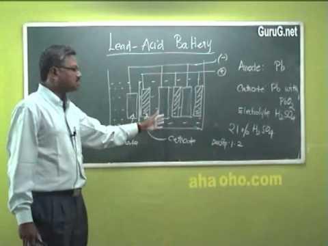 Unit-4  Akaline Batteries-Lead-Acid - Chemistry