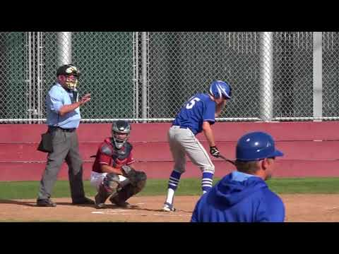 Los Altos Varsity Eagles vs Cupertino Pioneers - Friday 03/30/2018