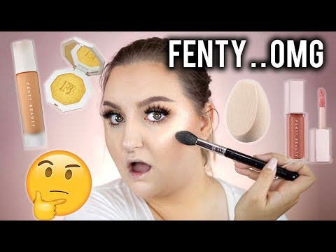 Thumbnail: O.M.G! HIT OR SH*T? | FENTY BEAUTY BY RIHANNA NO BULLSH*T REVIEW + Tutorial